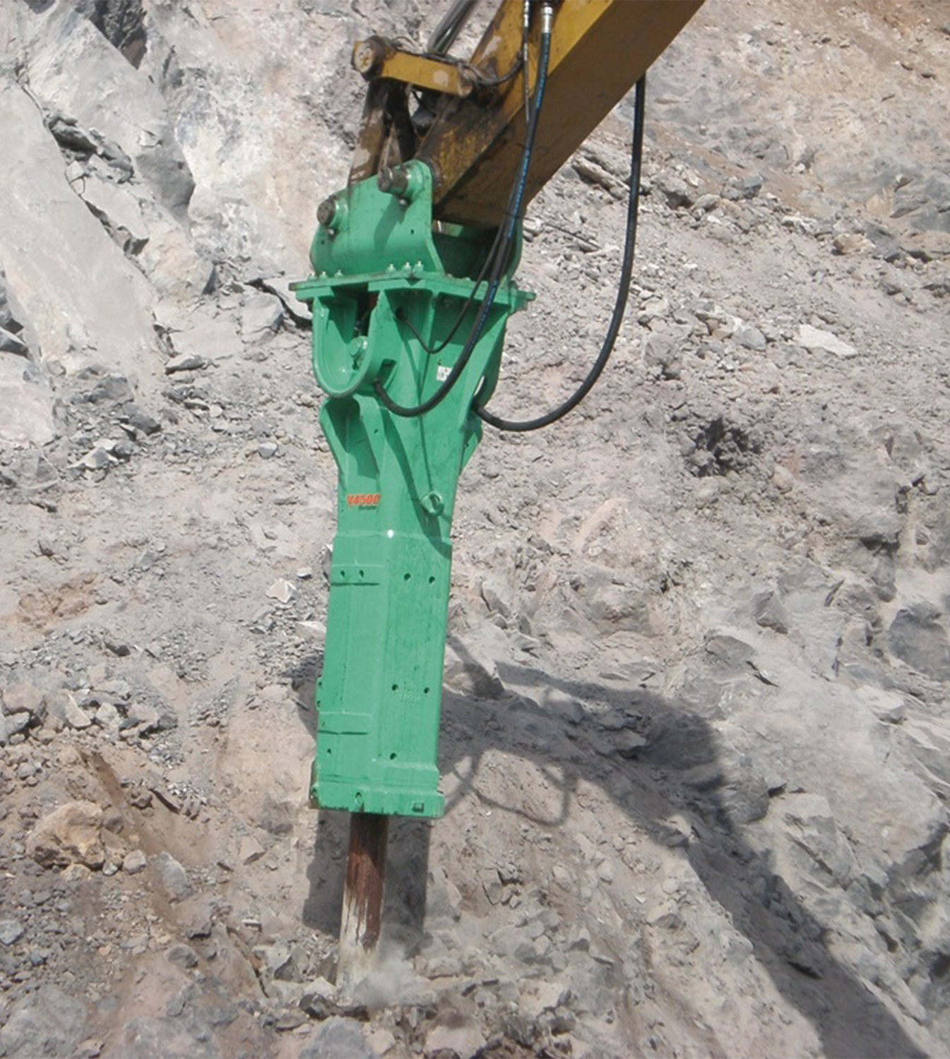 hydraulic breakers for rent